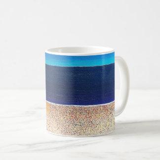 "Abstract Art Classic Designer Mug ""Beach"""
