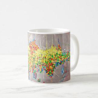 "Abstract Art Classic Designer Mug ""Birthday"""