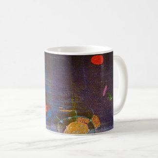 "Abstract Art Classic Designer Mug ""Blue Ocean"""