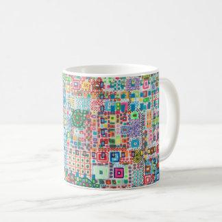 "Abstract Art Classic Designer Mug ""City"""