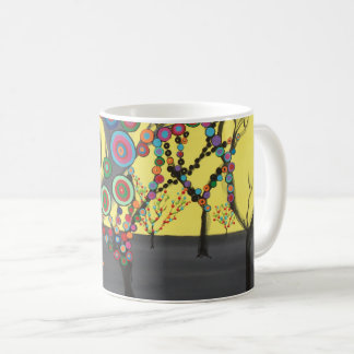 "Abstract Art Classic Designer Mug ""Forest"""