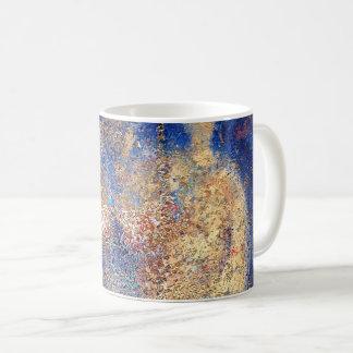 "Abstract Art Classic Designer Mug ""Golden"""