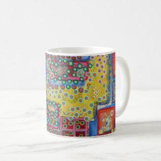 """Abstract Art Classic Designer Mug """"Polka Dots"""""""