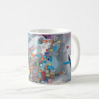 "Abstract Art Classic Designer Mug ""Pool Day"""
