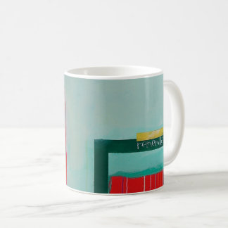 "Abstract Art Classic Designer Mug ""Remember"""