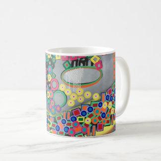 "Abstract Art Classic Designer Mug ""Shower"""