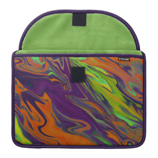 Abstract Art Colorful Painting MacBook Pro Sleeve