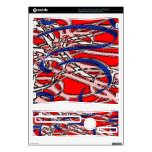 Abstract Art Confetti Decal For Xbox 360 S