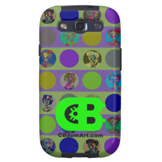 Abstract Art Cool Phone Covers by CBaum artist Samsung Galaxy SIII Case