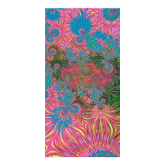 Abstract Art Corals Card