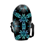 Abstract Art Courier Bags
