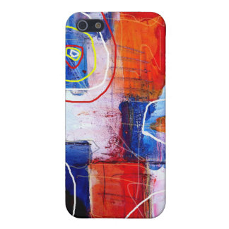 Abstract Art Cover For iPhone SE/5/5s