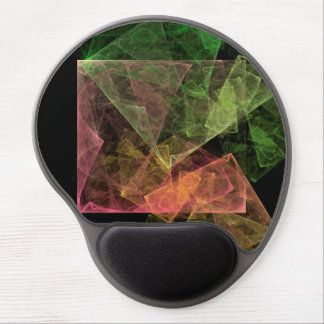 Abstract Art Cubic Space Gel Mouse Pad