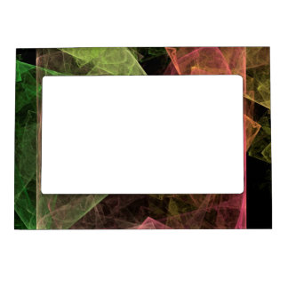 Abstract Art Cubic Space Magnetic Frame