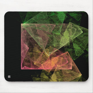 Abstract Art Cubic Space Mouse Pad