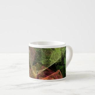 Abstract Art Cubic Space Espresso Mug