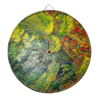Abstract Art Dartboard