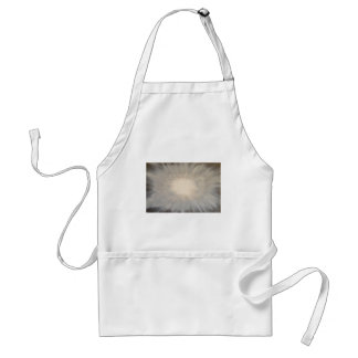 Abstract art design adult apron