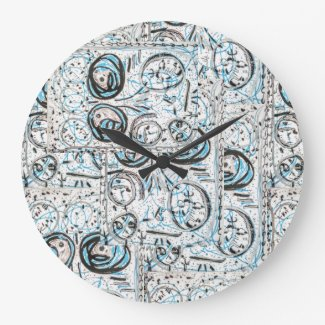 Abstract Art design Clock