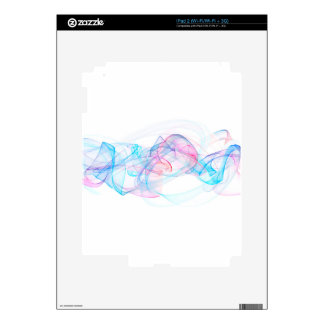 Abstract art design decal for iPad 2
