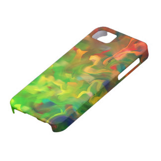 Abstract Art Design Number 3 iPhone SE/5/5s Case