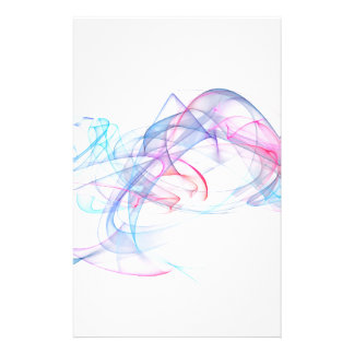 abstract art design stationery