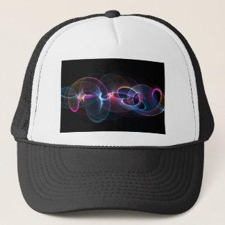 abstract art design trucker hat