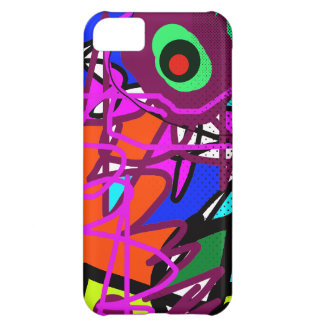 Abstract art digital painting iPhone 5C cover