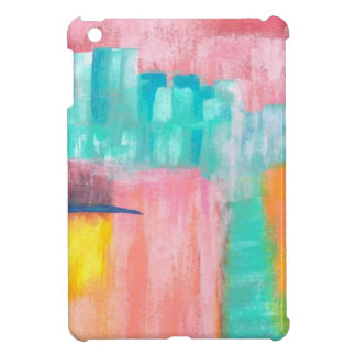 Abstract Art Dreamscape City Original Painting iPad Mini Cover