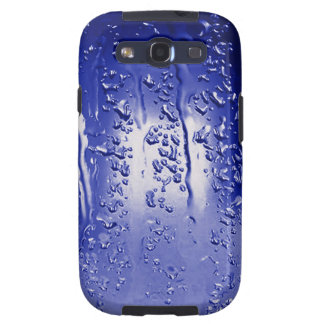 Abstract Art Drip Blue Samsung Galaxy SIII Covers