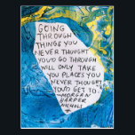 "Abstract art encouragement postcard quote<br><div class=""desc"">Painted,  designed,  and written by Morgan Harper Nichols</div>"