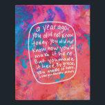 "Abstract art encouragement quote handwritten faux canvas print<br><div class=""desc"">Words,  art,  and design by Morgan Harper Nichols</div>"