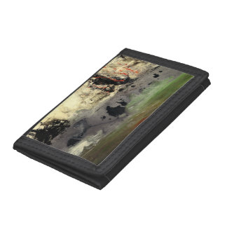 Abstract Art - Enigma Tri-fold Wallet