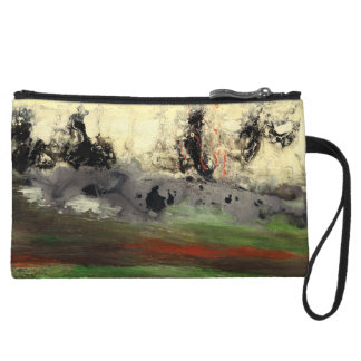 Abstract Art - Enigma Wristlet