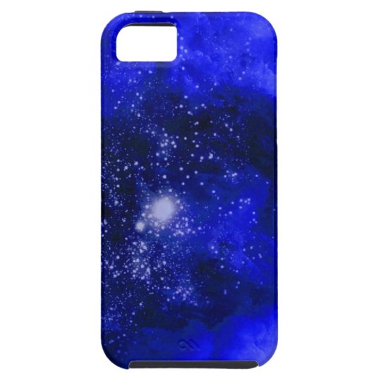 Abstract Art Epicenter Blue iPhone SE/5/5s Case