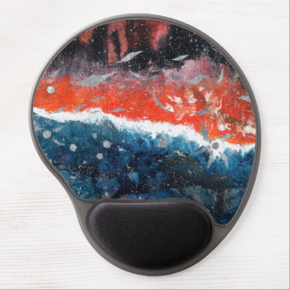 Abstract Art - Equilibrium Gel Mouse Pad