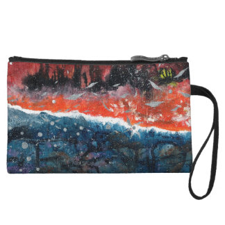 Abstract Art - Equilibrium Wristlet Wallet