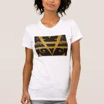 Abstract art fashion T-shirt.
