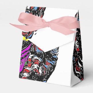 Abstract Art Favor Box n°1