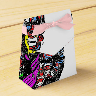 Abstract Art Favor Box n°1 Party Favor Box