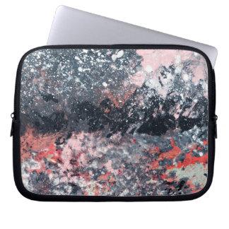 Abstract Art - Festive Dance Laptop Sleeve
