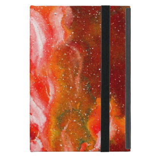 Abstract Art Flames Red Orange Glow Cover For iPad Mini