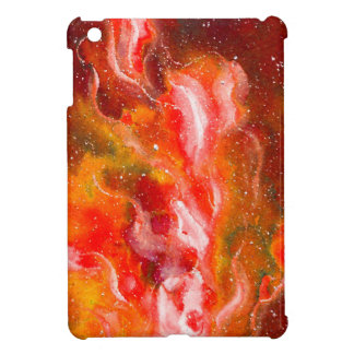 Abstract Art Flames Red Orange Glow Cover For The iPad Mini