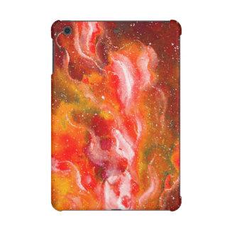 Abstract Art Flames Red Orange Glow iPad Mini Retina Cases