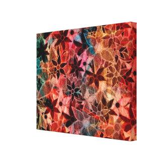 Abstract Art Flower Pattern #3 Canvas Print