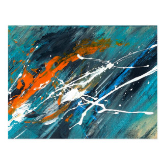 Abstract Art - Forward To You Postcard