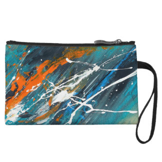 Abstract Art - Forward To You Wristlet
