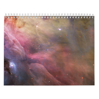 Abstract Art Found in the Orion Nebula Wall Calendar