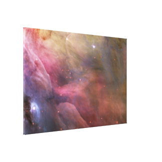 Abstract Art Found in the Orion Nebula Canvas Print