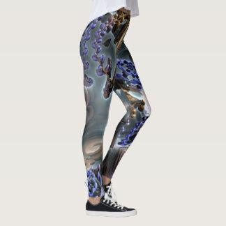 Abstract ART - Fractal GUM GUM Leggings